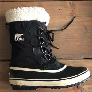 Sorel Shoes - Sorel Faux Fur Waterproof Laceup Boots
